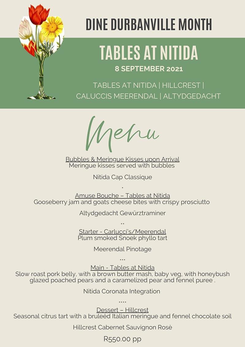 Tables @ Nitída