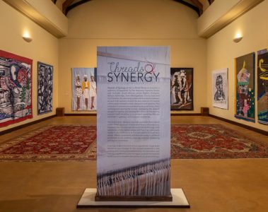Threads of Synergy Tapestry Exhibition at La Motte
